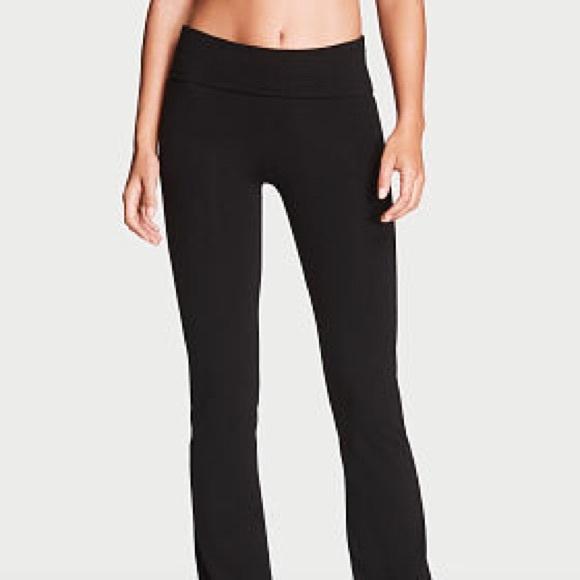 VS Pink open bottom leggings
